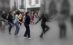 ballant a la Porxada